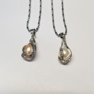 Jewelry - Freshwater caged Pearl pendant